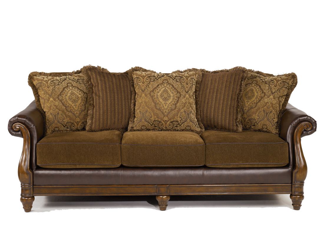 Couch Set Leather Fabric And Fabric Sofa On Pinterest
